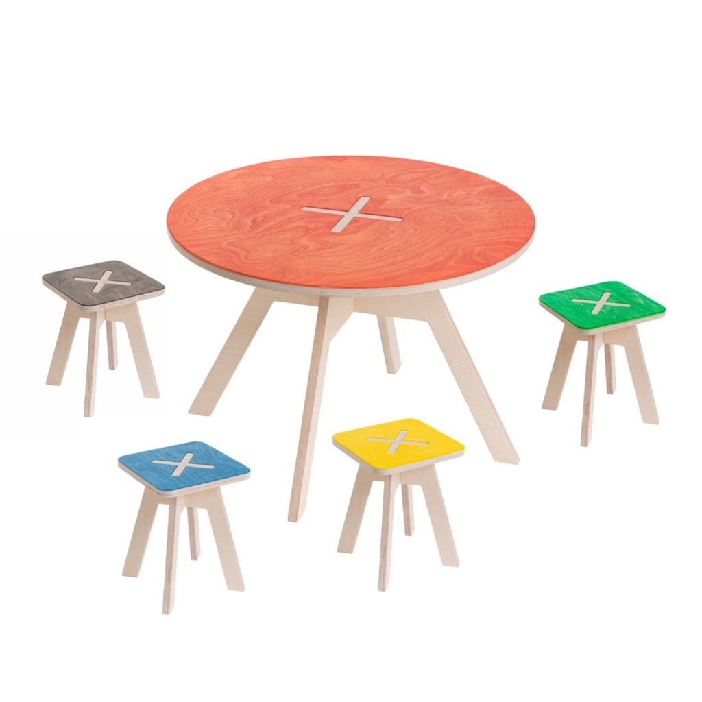 table and stool by 123ok